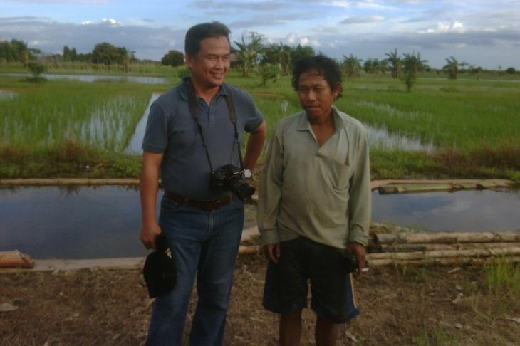 Bersama petani Desa Dadahup, Kalimantan Tengah